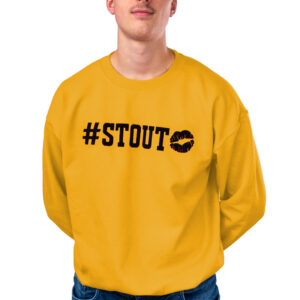 Rug - #stout mustard sweater - frontaal
