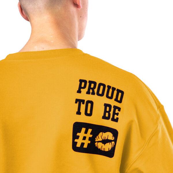 Rug - #stout mustard sweater - detail